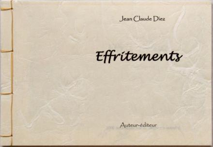 Effritements, Jean-Claude Diez